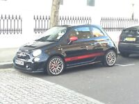 Abarth 500 Black - FSH - Monza Exhaust