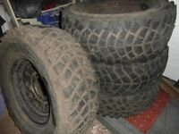 LAND ROVER DISCOVERY WHEELS AND OFF ROAD TYRES