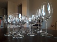 Set of 10 glasses + 3 wine glass. Very good conditions.