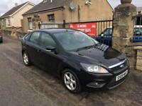 FORD FOCUS ZETEC 1.6 (09) 1 LADY OWNER, MOT JULY 18 , WARRANTY £2495