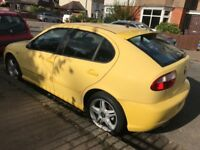For sale:Seat Leon 1.8 turbo cupra,this car is in very good condition (6 speed)£950
