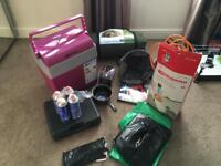 Tent electric cooler mobile mains unit camping stove etc