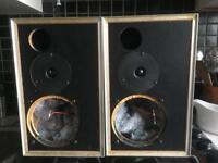 B&O bang and olufsen Beovox MC35 used speaker cabinets (woofers removed) 35w