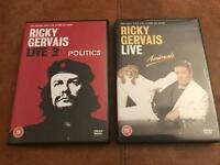 Ricky Gervais DVD's - Live Shows