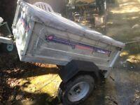 Daxara 127 camping/garden trailer 400kg like a ERDE