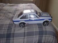 1.10 SCALE MODEL CAR FORD ESCORT MK 11