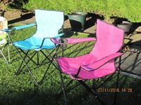 Selection of 6 sunchairs, including childrens.