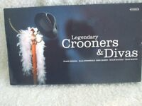 4 X CD BOXED SET. CROONERS & DIVAS