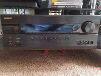 Onkyo home cinema 7.2 home cinema amp av reciever 5.1 speakers