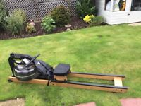 Rowing Machine - Fitness Superstore - FluidRower Apollo Hybrid AR (Nearly New)