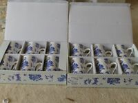 new unused 6 china mugs