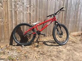 Inspired Fourplay trails bike