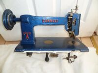 Cornely A Chainstitch Embroidery Sewing Machine