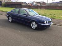 02 REG JAGUAR X TYPE 2.5 V6 AUTOMATIC MOT 29th AUG 2017 READY TO GO