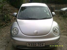 VW BEETLE 2.0 2001