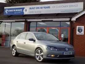VOLKSWAGEN PASSAT 2.0 SE TDI BLUEMOTION TECHNOLOGY 4dr 139 BHP ** Bl (grey) 2011