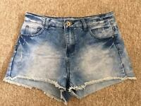 Women new look shorts Size 10