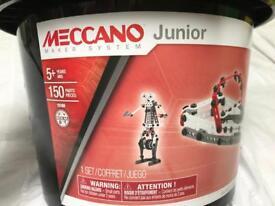 BRAND NEW Meccano Junior 150 piece bucket