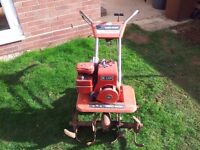 Yardman rotavator/rotovator with Briggs and Stratton engine