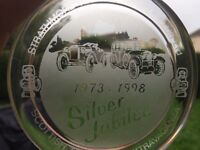 2 paper weights silver jubilee