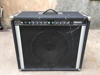 Very Rare Vintage Peavey Renown 115 450w Combo Guitar Amp w/ Black Widow Speaker
