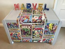 Upcycled extra large wooden Toybox