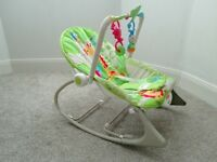 Fisher-Price baby rocking chair.