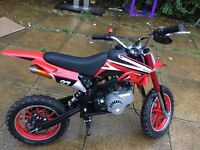 2016 model mini moto 50cc dirt bike