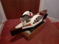 Radio control model boat