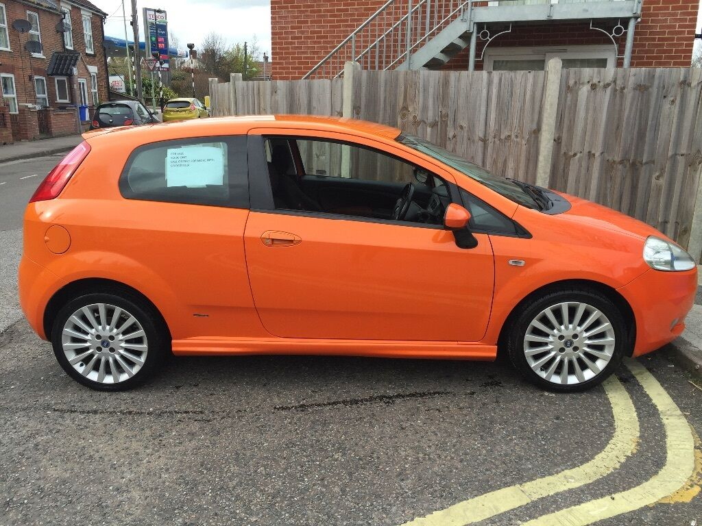 fiat grande punto sporting 1 4 in lowestoft suffolk gumtree. Black Bedroom Furniture Sets. Home Design Ideas