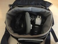 Canon 300D DSLR with canon efs lens and lowe pro bag £130 ONO
