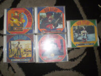 BOB DYLAN BASEMENT TAPES 5 CDS