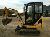 CAT 301.4C 1.5 TONNE MINI EXCAVATOR 955H 2012