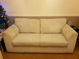 Double sofa and chair