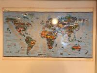 Fact Scratch World Map