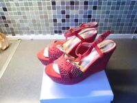 Brand new diamante wedge sandals £15 cash