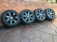 "Genuine 16"" BMW 1 3 Series Alloy wheels & Tyres E46 E86 E87 M Sport 5x120"