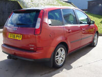 FORD C-MAX 2.0 C-MAX ZETEC TDCI 5d 136 BHP LEATHER TRIM + PRIVACY GLASS + FULL YEAR MOT ++