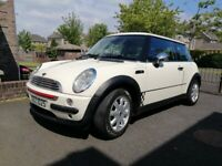 2004 Mini One, manual, 1.6, 12 Months MOT to 12/7/2022