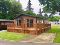 Immaculate holiday home lodge for sale with incredible castle views. Durham, Northumberland, DL140DE