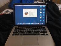 "Macbook pro 13"" Late 2013 - 8GB RAM - 2.4GHz Intel Core i5 - 128GB SSD Storage"