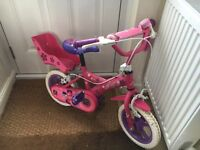 Toddler bike - Suzy bike pink 12 inch wheel