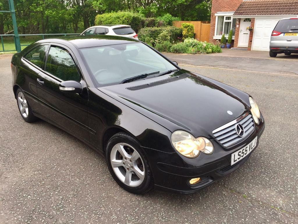 Mercedes C220 CDI Sport Coupe 55 Plate Facelift In Very Good Condition