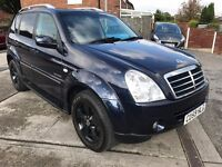 Fantastic Value 2008 59 Ssangyong Rexton 2.7 TD SPR t-Tronic 4x4 SUV Auto 70211 Miles FSH