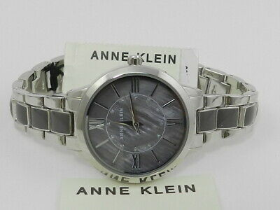 Anne Klein Women's Swarovski Crystal Accented  Watch AK/3329GYSV