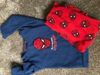 Spider-Man fleece pyjamas
