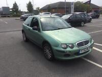 2004 rover 25 1.4 petrol 3 door green