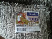 Dark Brown rug size 120cm x160cm good condition smoke and pet free house