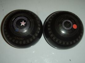 set of 2 Taylor Lignoid Size 5 bowls