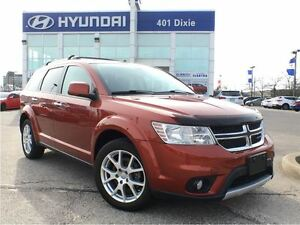2014 Dodge Journey R/T|AWD|V6|NAVI|BACK-UP CAM|LEATHER|HTD SEATS